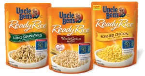 Uncle Ben's Ready Rice Pouch