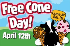 Ben & Jerry's Free Cone Day April 12