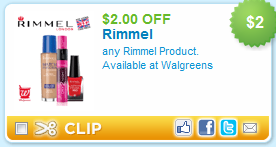 Rimmel Printable Coupon