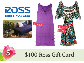 Ross Gift Card Giveaway