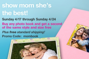 Seehere Mother's Day Photo Book