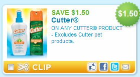 Cutter Printable Coupon