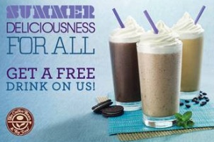 FREE Ice Blended at Coffee Bean May 11