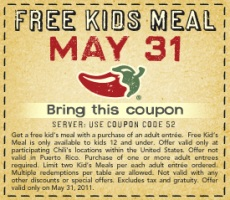 Chili's Coupon