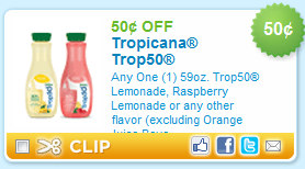 Tropicana Printable Coupon