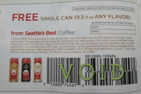 Seattle's Best Coupon