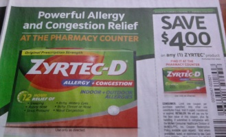 photo about Zyrtec Printable Coupon known as CVS Upgrades: Potential $4 Zyrtec Coupon, Free of charge Untrue Lashes