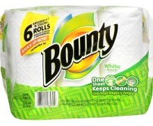 Bounty Paper Towels 6 Pack