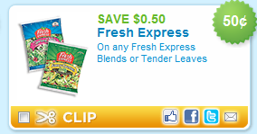 Fresh Express Coupon