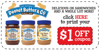 Peanut Butter & Co Coupon
