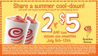 Jamba Juice Coupon