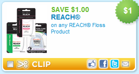 Reach Floss Coupon
