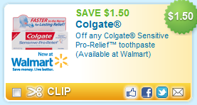 Colgate Pro-Relief Toothpaste Coupon