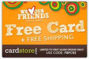 Cardstore.com Coupon Code