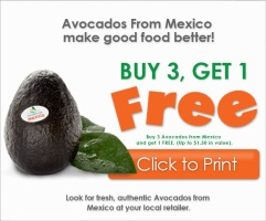 Avocado Printable Coupon