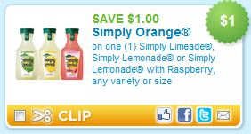Simply Juice printable coupon