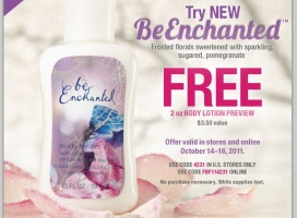 Bath & Body Works Be Enchanted Lotion Free