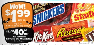 Hershey's Halloween Candy Coupon