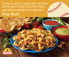 Mission Chips & Dip Coupon