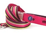 Multi-Stripe Lead, Pink/Crown