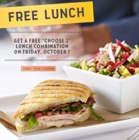 Free Lunch Coupon Macaroni Grill