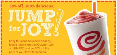 Jamba Juice printable coupon