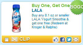 Lala Yogurt Smoothie Coupon