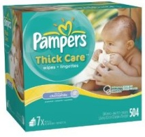Pampers Thick Care Wipes