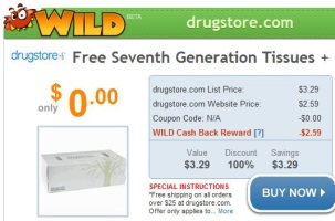 Seventh Generation Tissues Free