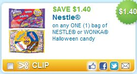 Nestle Wonka Halloween Printable Coupon
