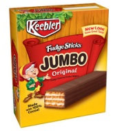 Keebler Fudge Jumbo Fudge Sticks