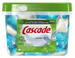Cascade Action Pacs 60 count
