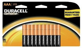 Duracell Batteries 20-Count AAA