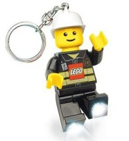Play Visions LEGO City Minifigure LED Keychain Light