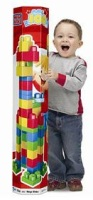 Mega Bloks 100pc Maxi Tube Building Blocks