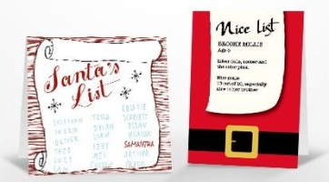 Tiny Prints Free Santa Card