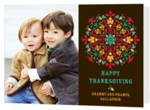 Tiny Prints Thanksgiving Card