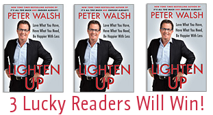 Peter Walsh Lighten Up Giveaway