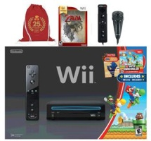 Nintendo Select Family Fun Bundle w/ Bonus* Mario Cinch Bag