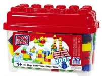 Mega Bloks 100-Piece Value Bucket