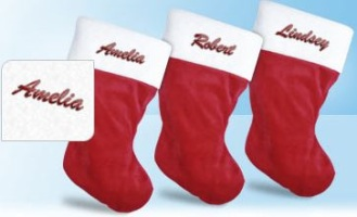 VistaPrint Personalized Stocking
