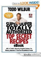 Super Duper Totally Authorized Top Secret Recipes