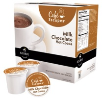 Café Escapes® Milk Chocolate Hot Cocoa K-Cup® packs