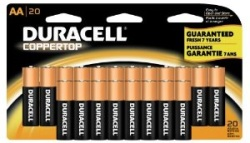 Duracell AA 20-count